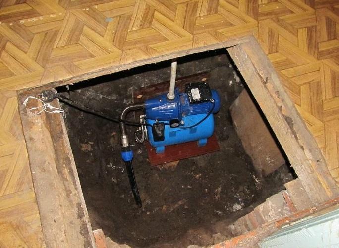 Бурение скважин и обустройство под ключ. Абиссинский колодец в подвале дома.
